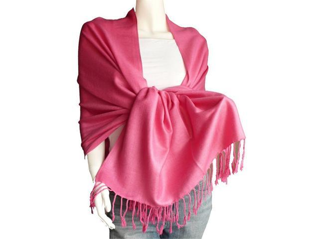 Solid Pashmina Shawl - Soft Scarf in Many Beautiful Colors