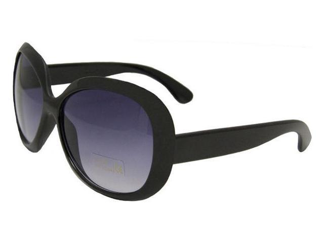 Black Jackie Oversized Fashion Sunglasses 1138