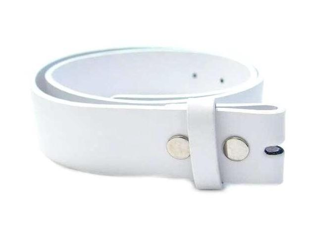 White Belt For Buckles Small 2388
