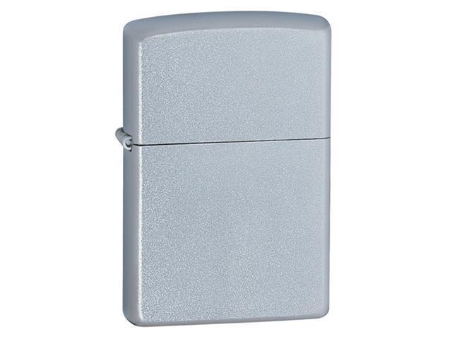 Zippo Satin Chrome Pocket Lighter -