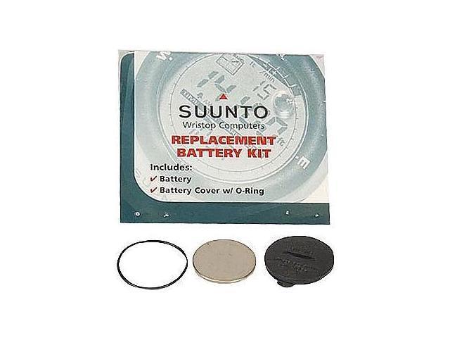 Suunto Wrist-Top Computer Watch Replacement Battery Kit (Vector, Advizor, X-Lander, S-Lander, Altimax, Yachtsman, Mariner, ...
