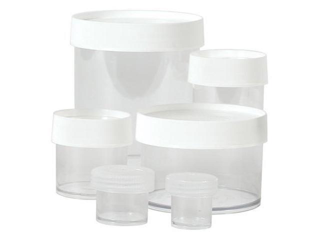 Nalgene 341417 4 Oz. Straight Side Jars - Polypropylene -