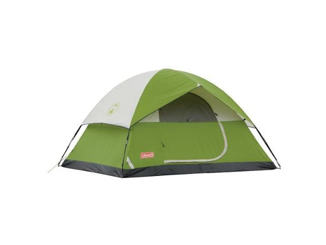 Coleman Sundome 4-Person Tent, Green -