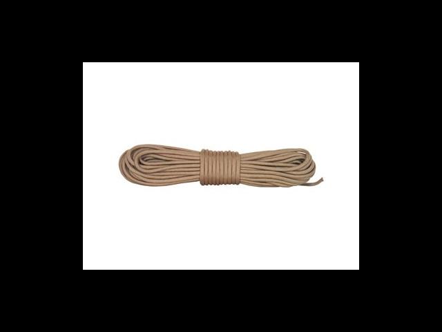 Desert Tan Nylon Braided Paracord - 50' Hank
