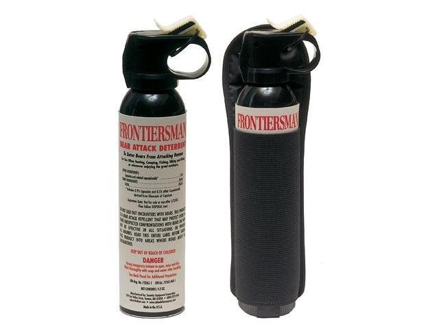 Bear Protection With Frontiersman Bear Spray: Frontiersman Bear Spray With Holster/7.9 Oz.