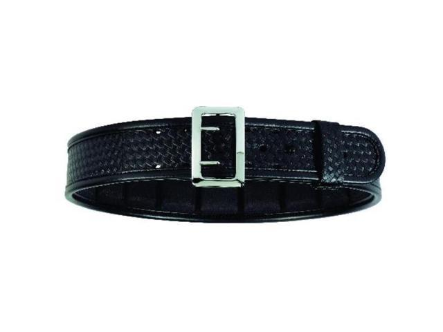 bianchi 7960 bsk black sam browne belt with brass buckle