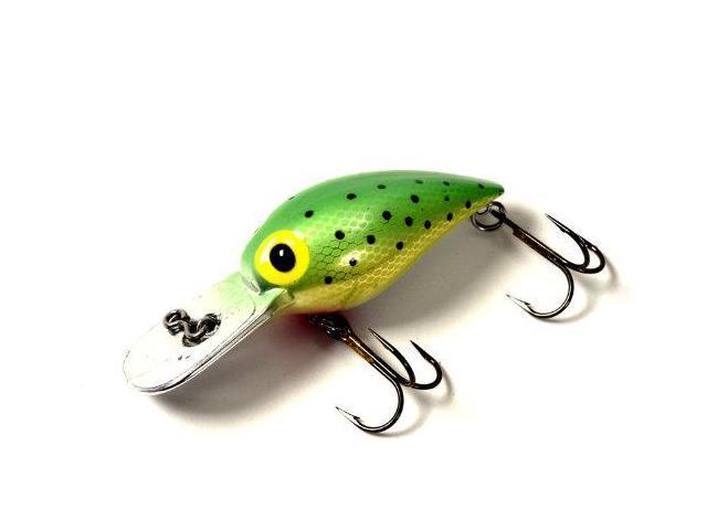 Brad 39 s killer fishing gear wiggler green speck 3 inch for Brad s killer fish