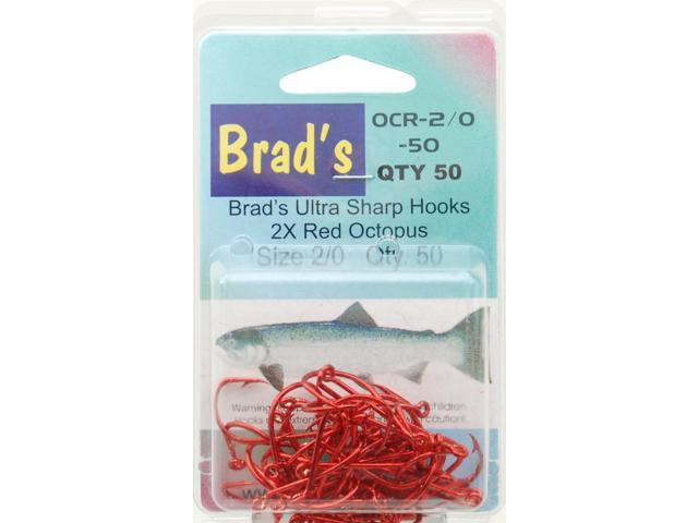 Brad 39 s killer fishing gear red hook 50 pack size 2 0 ocr 2 for Brad s killer fish