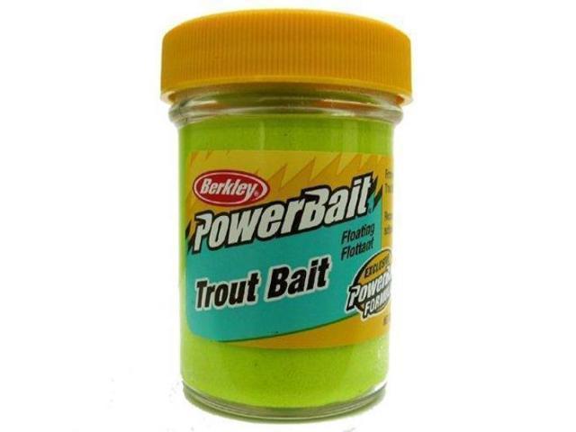 Powerbait fw biodegradable trout fishing bait hatchery for Trout fishing with powerbait