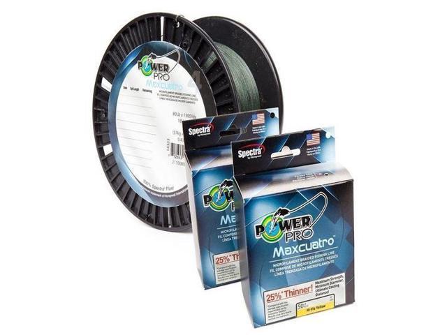 Power pro 33400650150y maxcuatro braided fishing line 65 for Power pro braided fishing line
