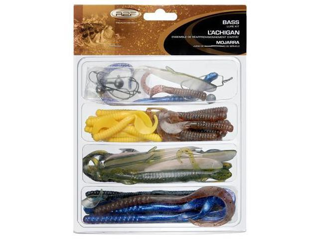 Ready 2 fish rtf bass 2 kit r2fk2 bass2 fishing lures for Ready 2 fish