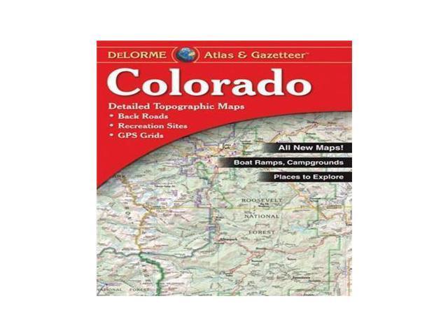Colorado atlas gazetteer delorme for Colorado fishing atlas