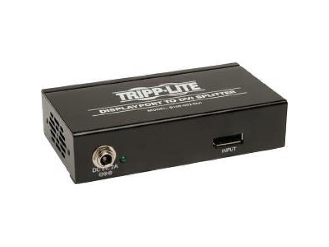 Tripp Lite B156-002-DVI DisplayPort to DVI Multi-Display Splitter/Expander - 2 Port