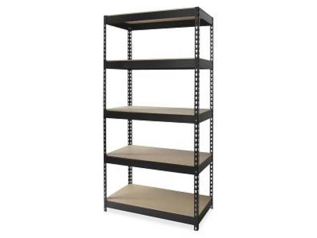 Riveted Steel Shelving 48