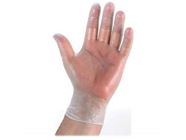 Vinyl General Purpose Gloves, XXLarge, 100/BX, Clear GJO15395