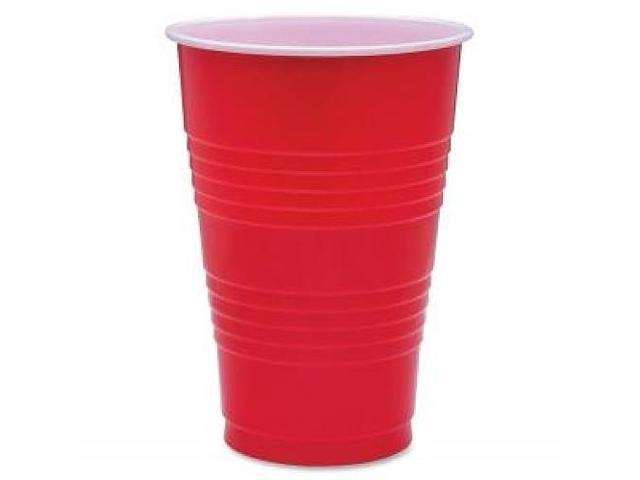 Party Cups 16oz. 50PK Red
