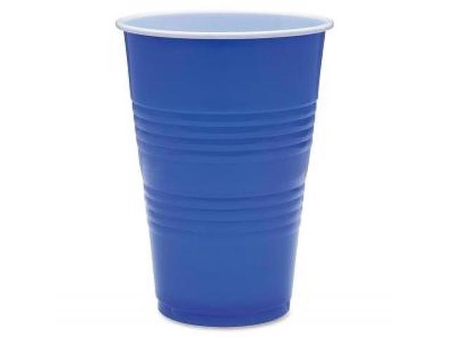 Party Cups 16oz. 50/PK Blue
