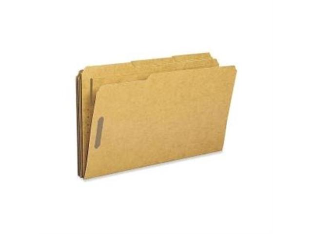 Fastener Folders w/2-Ply Top Tab 1/3 Cut Lgl 50/BX KFT