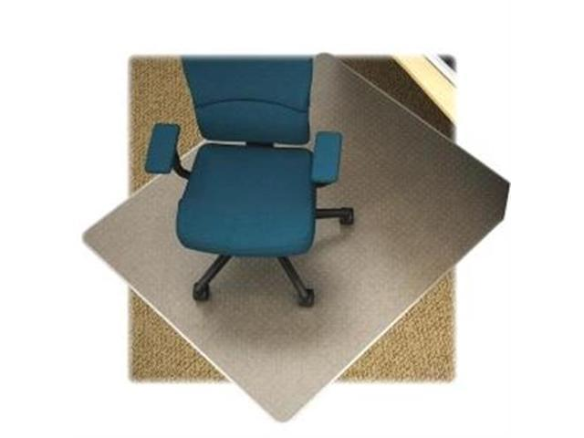 Low Pile Chairmat Rectangular Vinyl 46