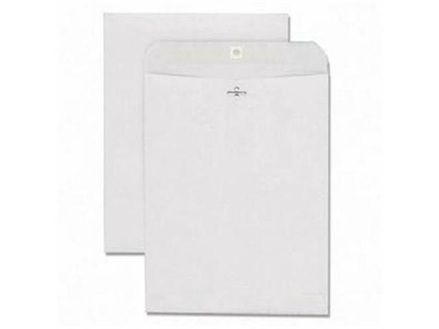 Quality Park Products QUA38597 Gummed Clasp Envelope- 28Lb- 10in.x13in.- Gray