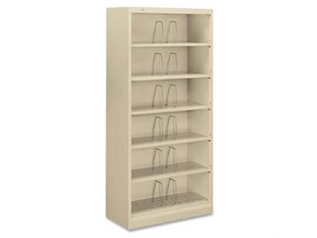 "HON626CNL 6-Shelf Open File, Legal, 36""x16-3/4""x75-7/8"", Putty"