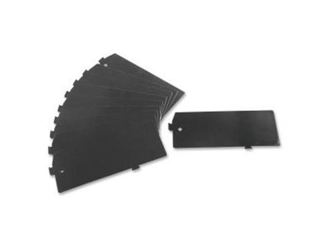 Lateral Files Divider Kit 10/BX Black