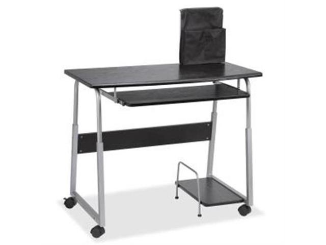Lorell 84847 Mobile Computer Desk Rectangle - 41.50