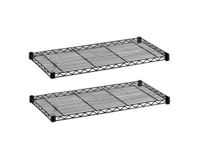 Safco 5293BL Industrial Wire Shelf Pack