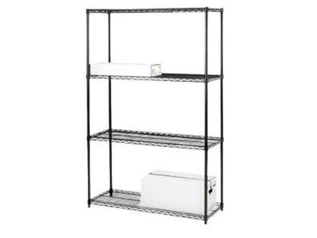 Starter Shelving Unit 4 Shelves/4Posts 48