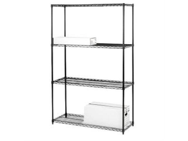 Starter Shelving Unit 4 Shelves/4 Posts 36