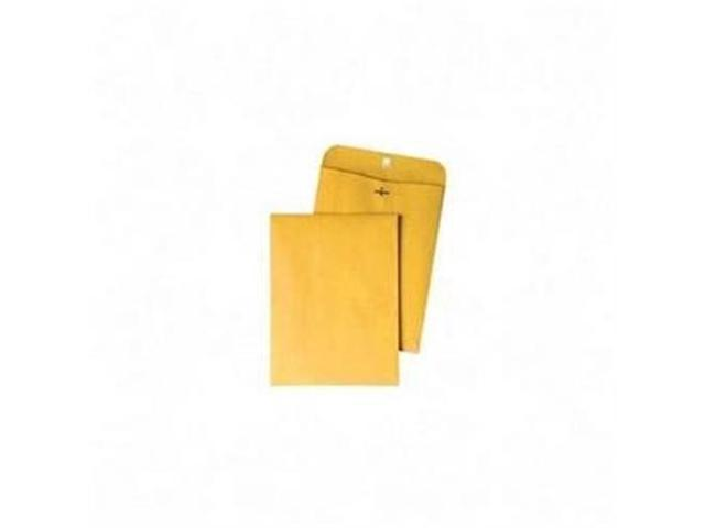 Quality Park Products QUA37815 Gummed Clasp Envelope- 28Lb- 4in.x6-.38in.- Kraft