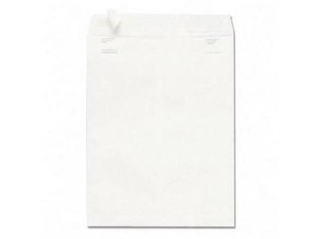 Quality Park Products QUAS3610 Envelope W-Flap-Stik- Plain- 9in.x12in.- White