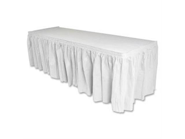 Table Skirting Pleated Polyester 29