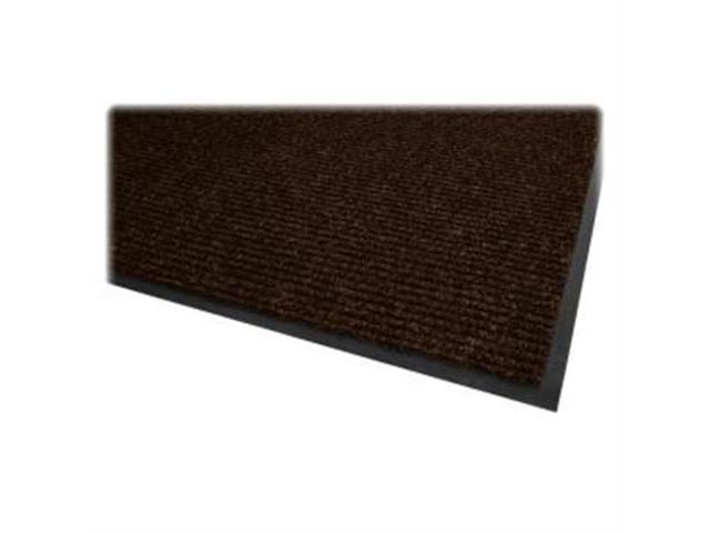 Dual Rib Indoor Mat f/Hard Surface 4'x6' Chocolate