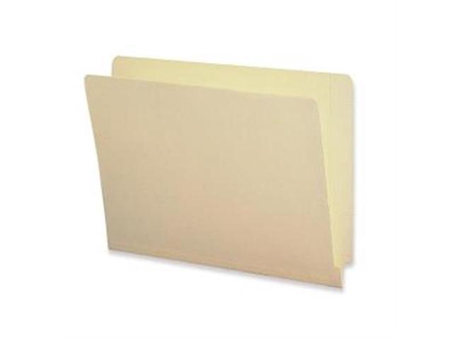 End Tab Folders 2-Ply Straight Tab Letter 9