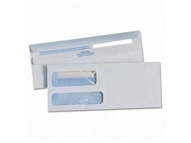 Quality Park Products QUA24529 Envelope-Dblwdw- White Wove- 24 lb- No 9- WE