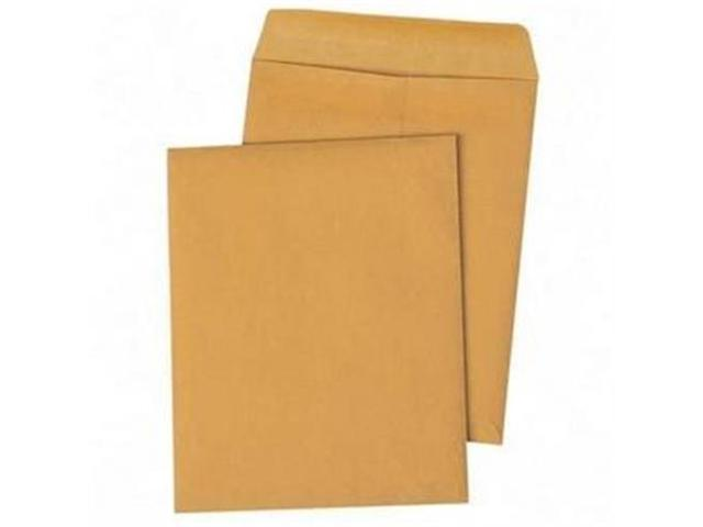 "Redi-Seal Envelope, Plain, 28Lb, 10""x13"", 100/BX, Kraft QUA43767"