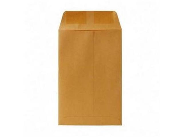 Quality Park Products QUA40760 Catalog Envelope- Plain- 20Lb- 6in.x9in.- Kraft