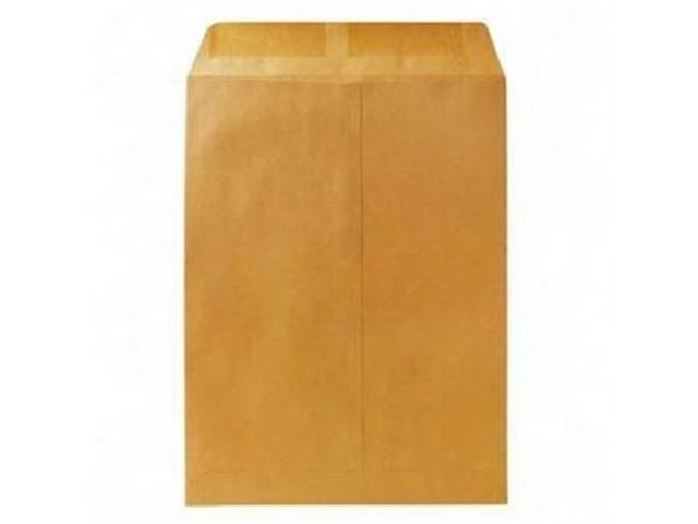 Quality Park Products QUA41460 Catalog Envelope- Plain- 20Lb- 9in.x12in.- 2- Kraft