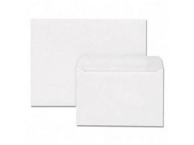 Quality Park Products QUA37682 Booklet Envelope- Plain- 28Lb- 9in.x12in.- 2- White