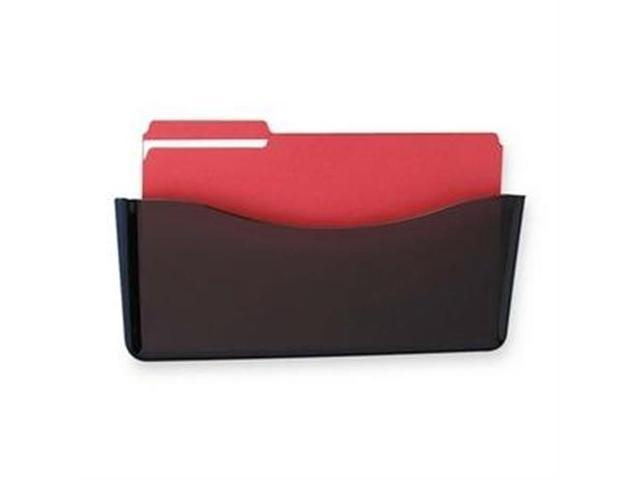 Rubbermaid RUB65978ROS Wall File- Unbreakable- Legal- 16-.75in.x3-.13in.x6-.63in.- Smoke