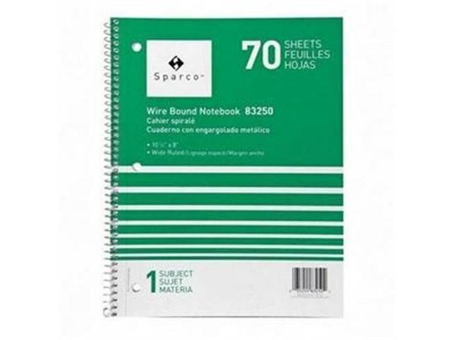Notebooks 1 Subject 10-1/2