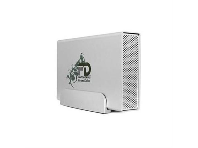 Fantom Drives GreenDrive3 3TB USB 3.0/2.0 Aluminum Desktop External Hard Drive Silver