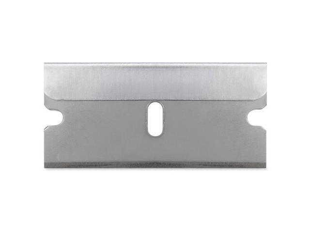 Single Edge Refill Blades, 5/PK, Silver