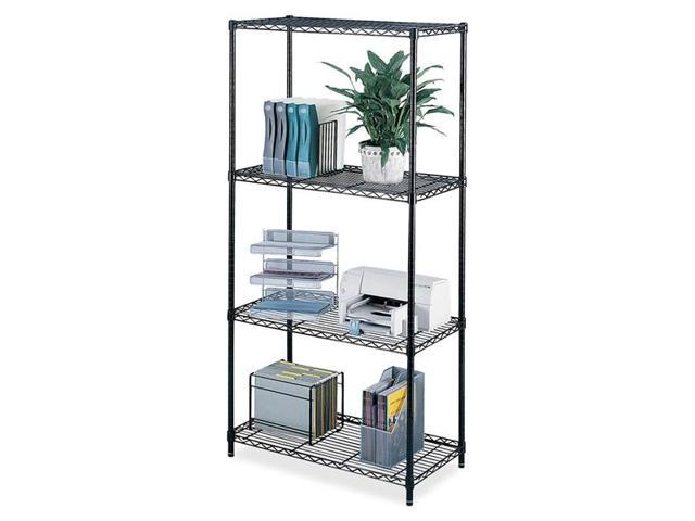 Safco 5285BL Industrial Wire Shelving