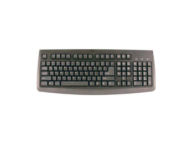 Axis CP76006 Black PS/2 Wired Standard Keyboard