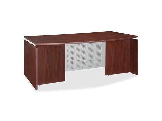Lorell 68680  Ascent Bowfront Desk Shell, 72
