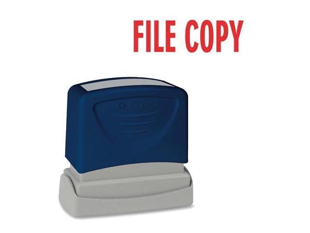 FILE COPY Title Stamp 1-3/4