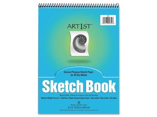 Pacon 4850 Art1st Sketch Book 30 Sheet - 94 g/m² Grammage - 9