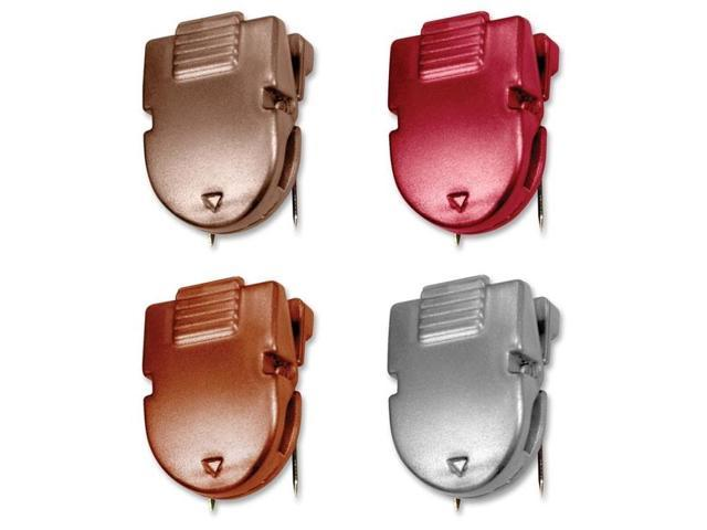 Advantus Corp. AVT75347 Panel Wall Clips- 40Sheets- .50in.x1in.x1-.38in.- Diesel Colors
